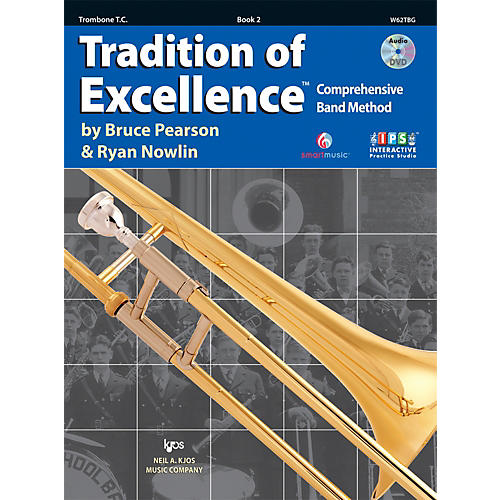 KJOS Tradition Of Excellence Book 2 for Trombone TC thumbnail