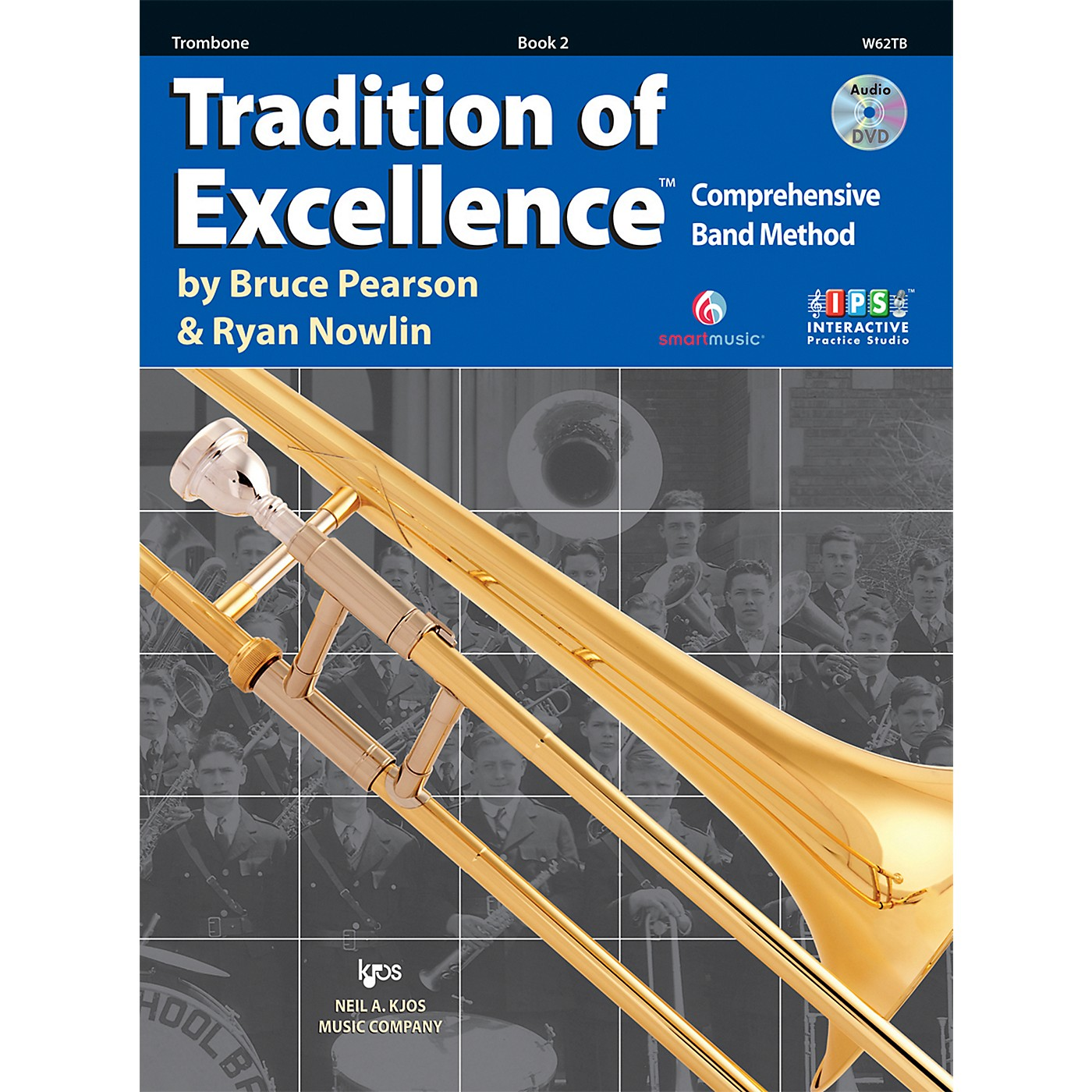 KJOS Tradition Of Excellence Book 2 for Trombone thumbnail