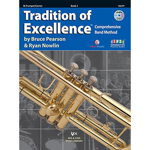 KJOS Tradition Of Excellence Book 2 for Trumpet thumbnail