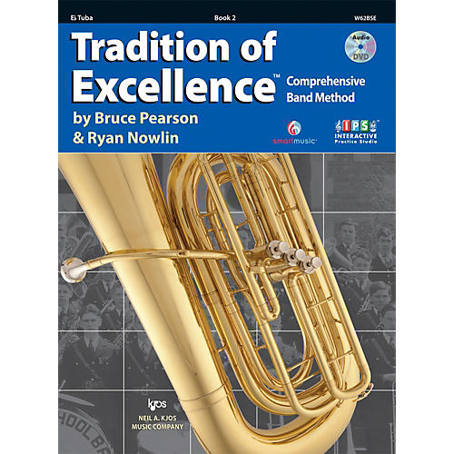 KJOS Tradition Of Excellence Book 2 for Tuba E Flat thumbnail