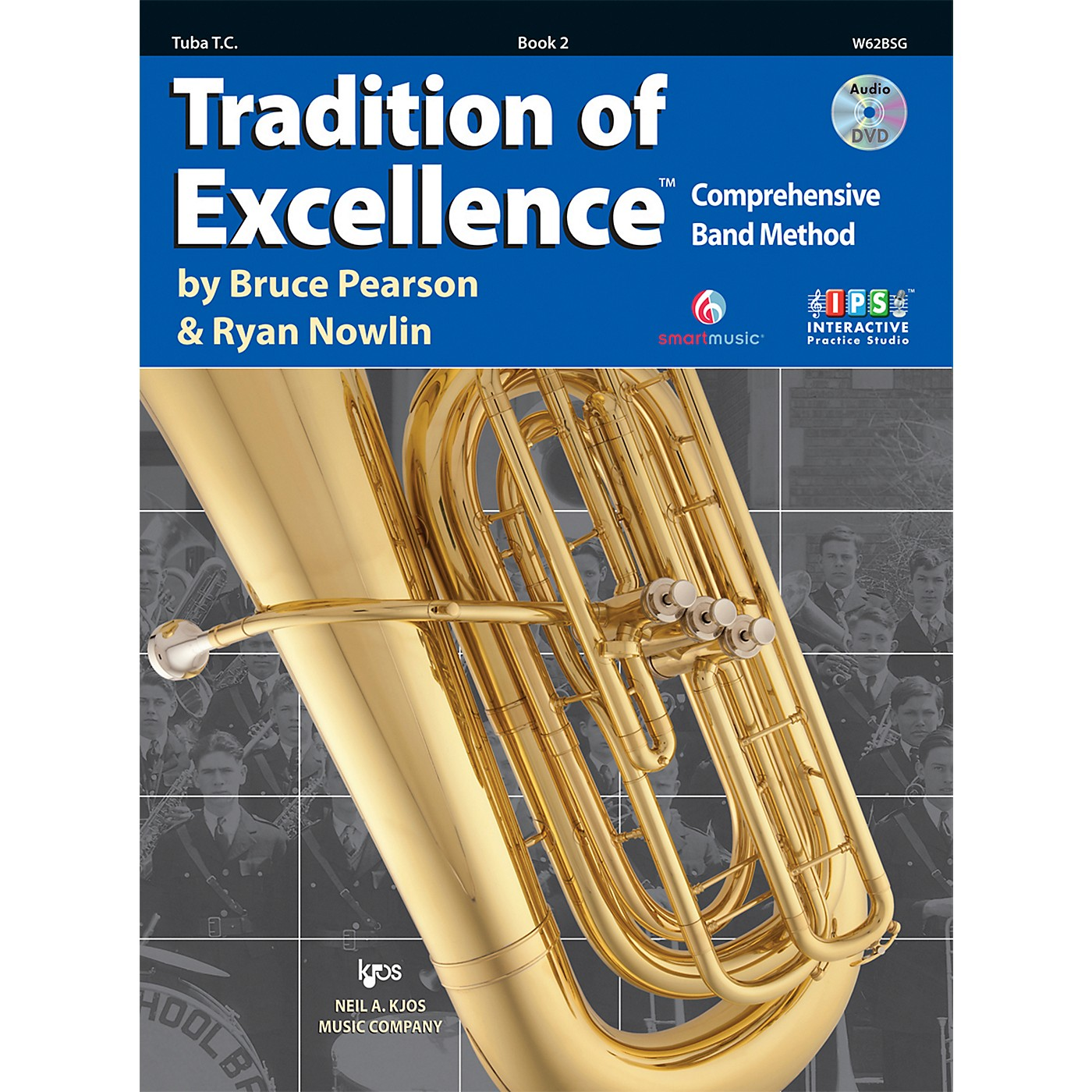 KJOS Tradition Of Excellence Book 2 for Tuba TC thumbnail