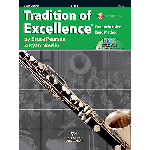 KJOS Tradition of Excellence Book 3 Alto clarinet thumbnail