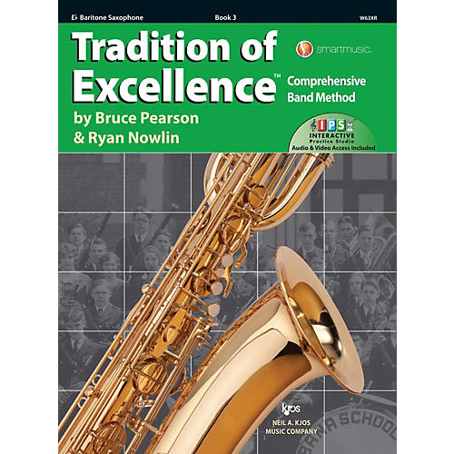 KJOS Tradition of Excellence Book 3 Bari sax thumbnail