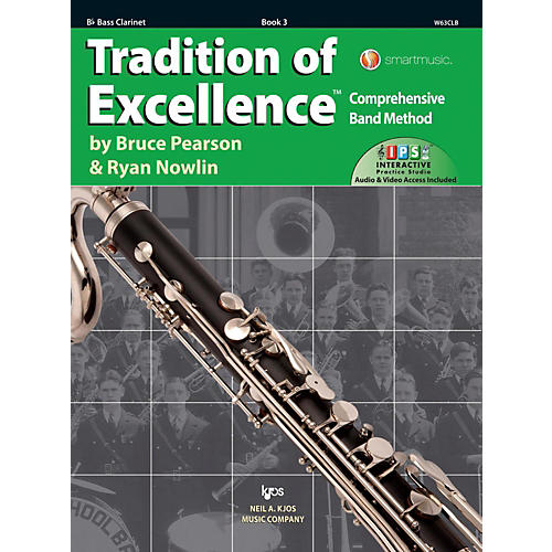 KJOS Tradition of Excellence Book 3 Bass clarinet thumbnail