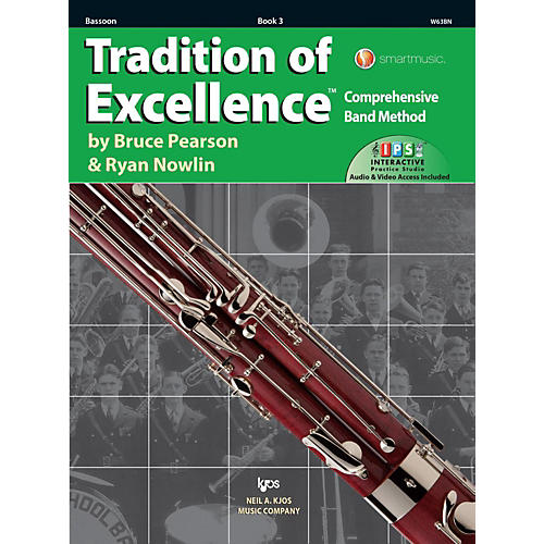 KJOS Tradition of Excellence Book 3 Bassoon thumbnail