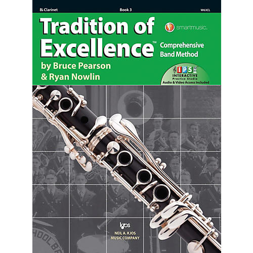 KJOS Tradition of Excellence Book 3 Clarinet thumbnail
