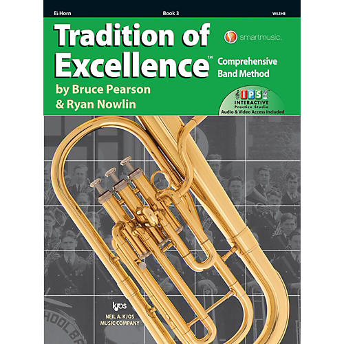 KJOS Tradition of Excellence Book 3 Eb Horn thumbnail
