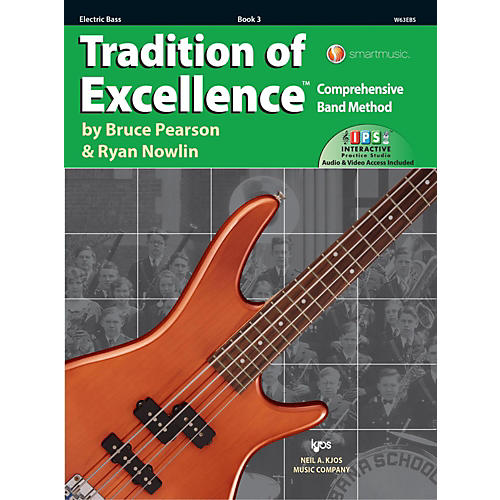 KJOS Tradition of Excellence Book 3 Electric bass thumbnail