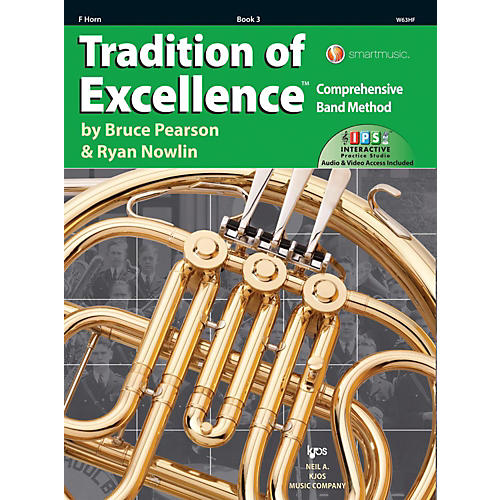 KJOS Tradition of Excellence Book 3 F Horn thumbnail