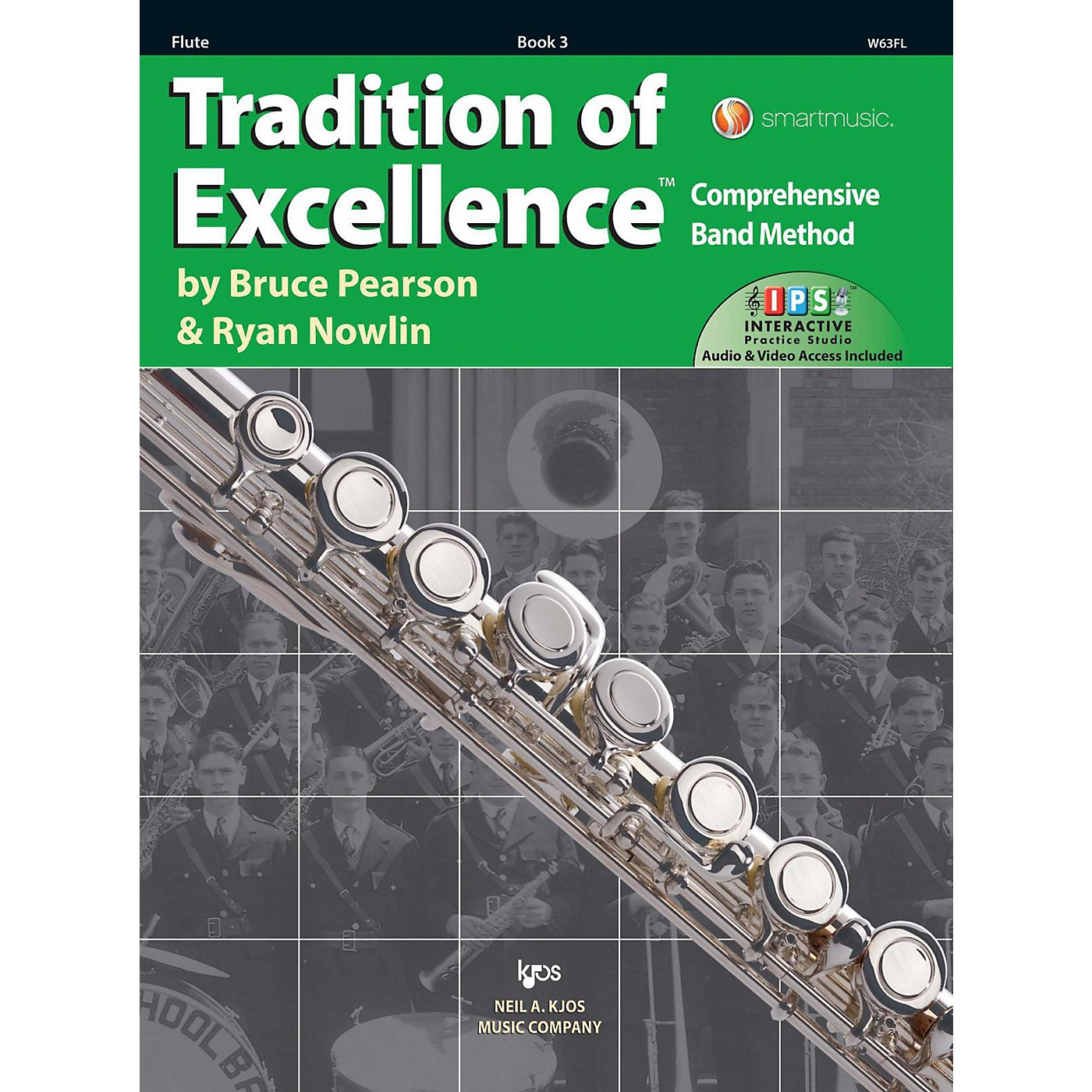 KJOS Tradition of Excellence Book 3 Flute thumbnail