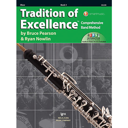 KJOS Tradition of Excellence Book 3 Oboe thumbnail