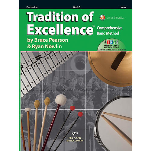 KJOS Tradition of Excellence Book 3 Percussion thumbnail
