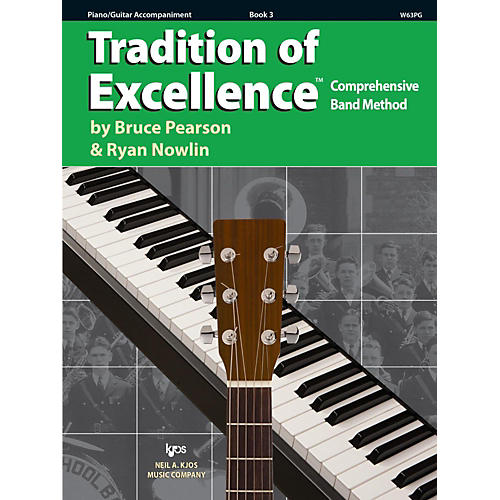 KJOS Tradition of Excellence Book 3 Piano/guitar thumbnail
