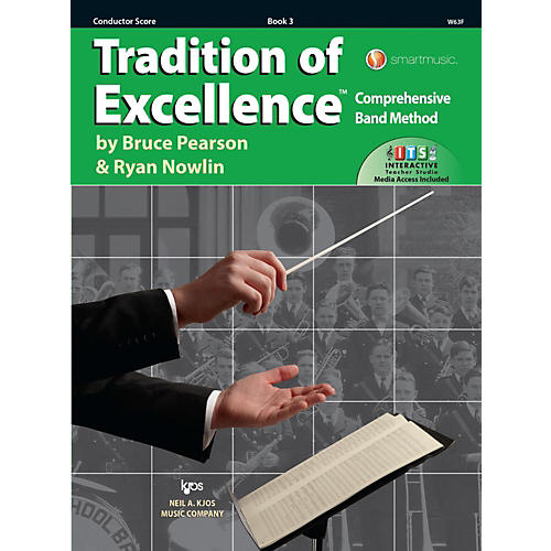 KJOS Tradition of Excellence Book 3 Score thumbnail