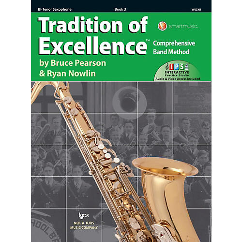KJOS Tradition of Excellence Book 3 Tenor sax thumbnail