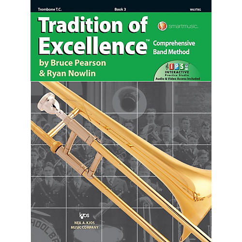 KJOS Tradition of Excellence Book 3 Trombone TC thumbnail