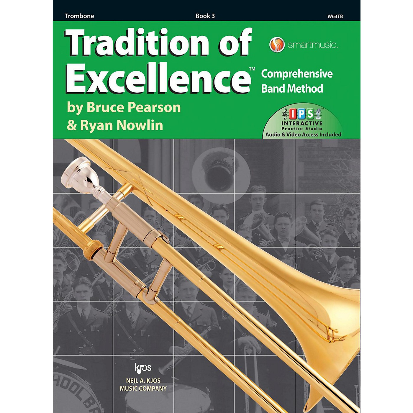 KJOS Tradition of Excellence Book 3 Trombone thumbnail