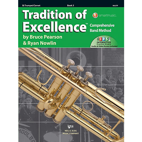 KJOS Tradition of Excellence Book 3 Trumpet thumbnail