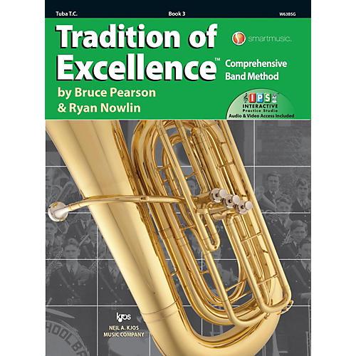 KJOS Tradition of Excellence Book 3 Tuba TC thumbnail