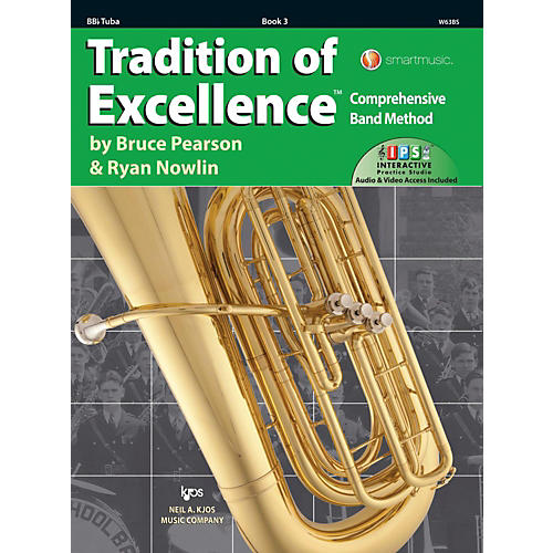 KJOS Tradition of Excellence Book 3 Tuba thumbnail