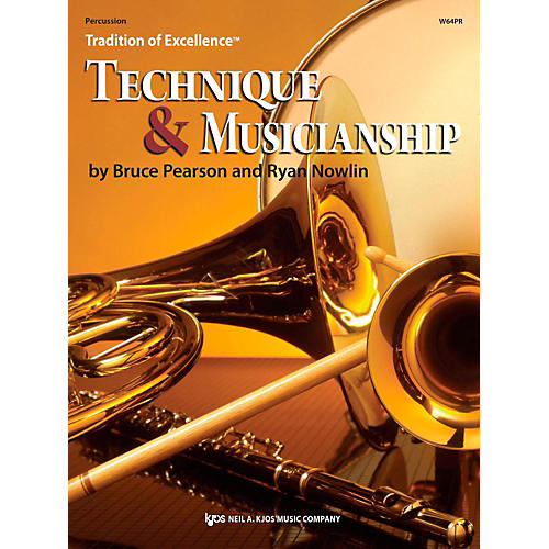 KJOS Tradition of Excellence: Technique & Musicianship Percussion thumbnail