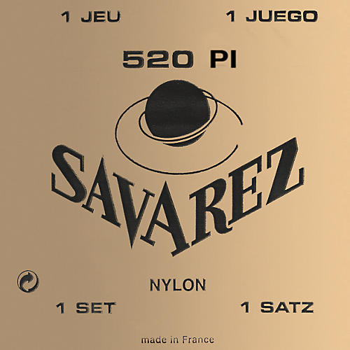 Savarez Traditional 520P1 High Tension Classical Guitar Strings thumbnail