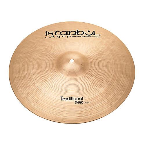 Istanbul Agop Traditional Dark Crash Cymbal thumbnail