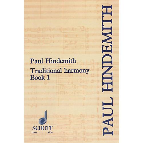 Schott Traditional Harmony Book 1 thumbnail