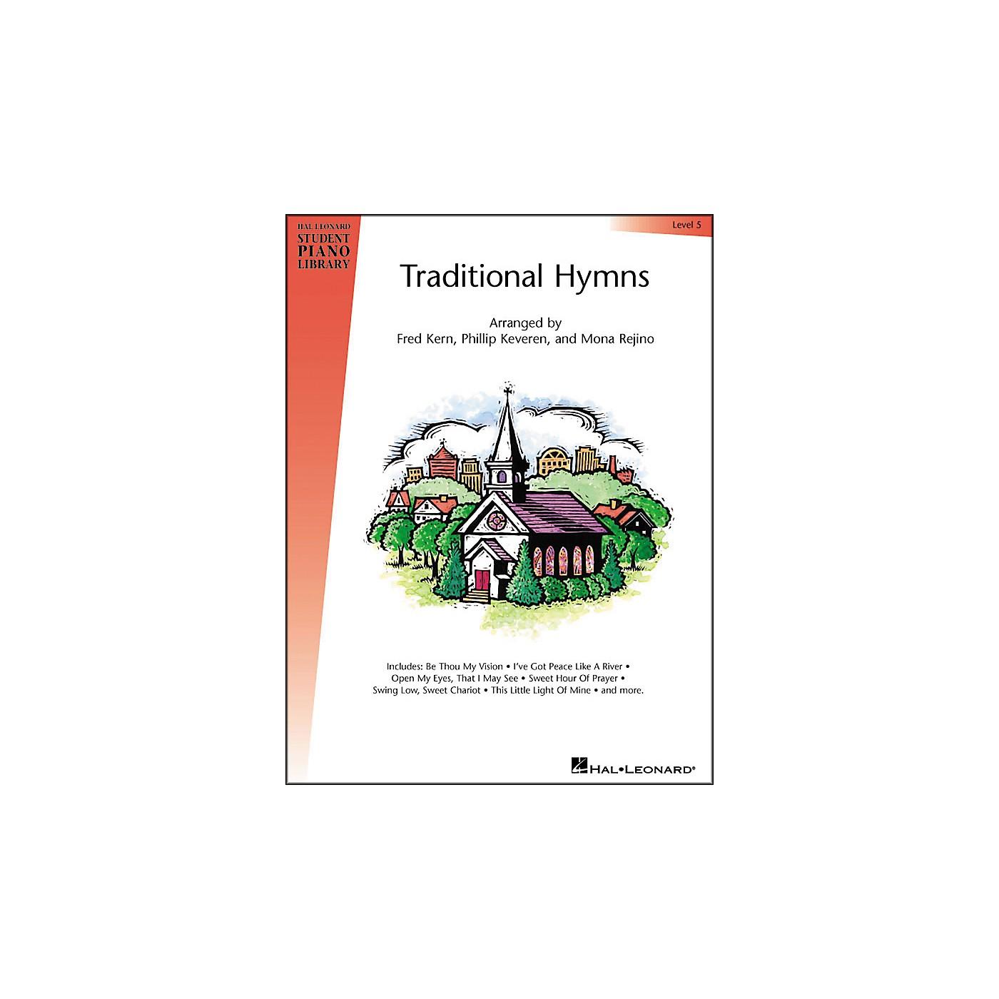 Hal Leonard Traditional Hymns Level 5 Hal Leonard Student Piano Library thumbnail