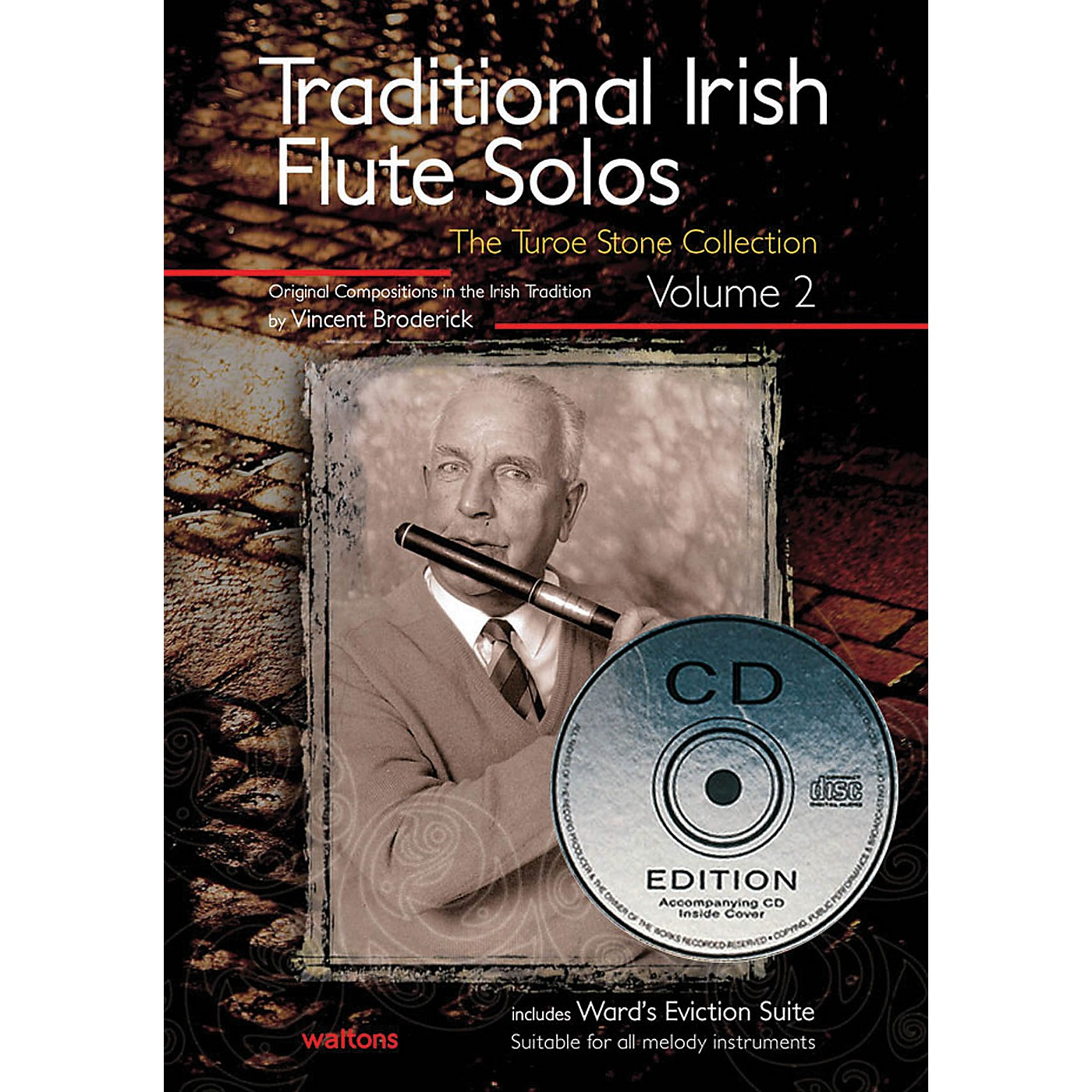 Waltons Traditional Irish Flute Solos - Volume 2 Waltons Irish Music Books Series Written by Vincent Broderick thumbnail
