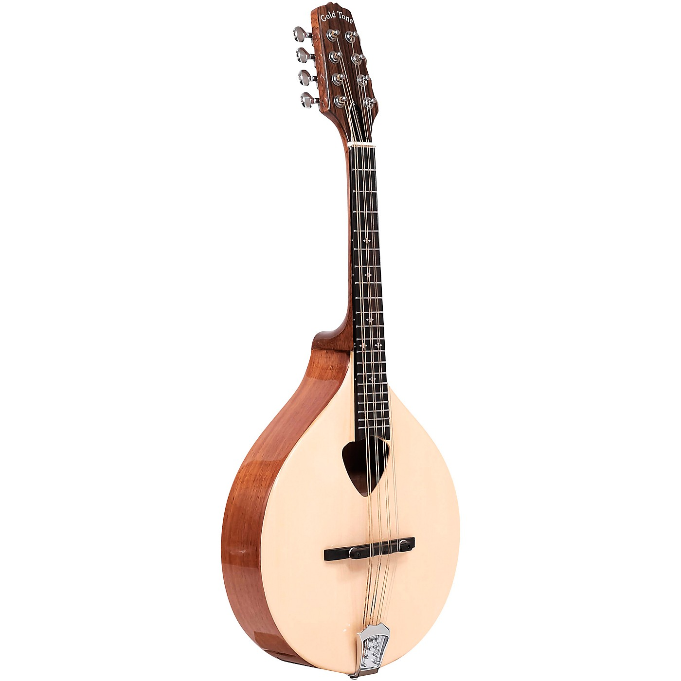 Gold Tone Traditional Irish Mandola with Case thumbnail