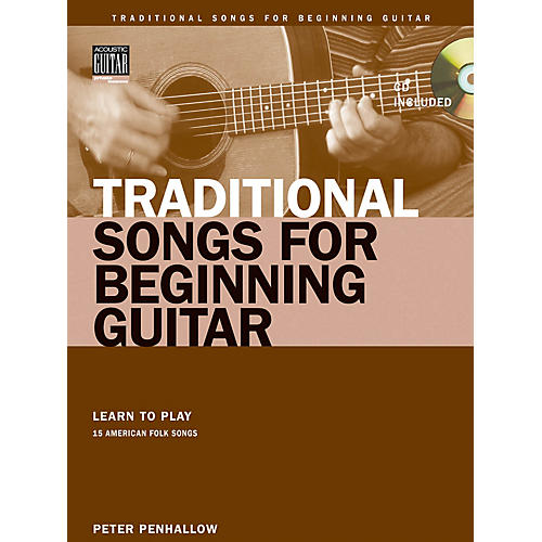 String Letter Publishing Traditional Songs for Beginning Guitar String Letter Publishing Softcover with CD by Peter Penhallow thumbnail