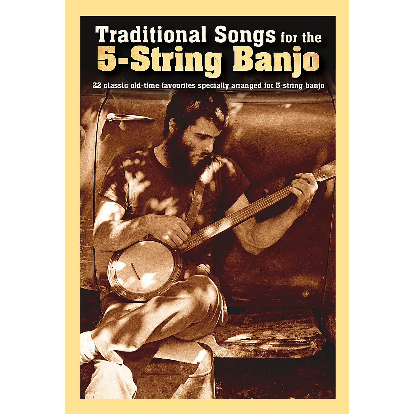 Music Sales Traditional Songs for the 5-String Banjo Banjo Series Softcover thumbnail