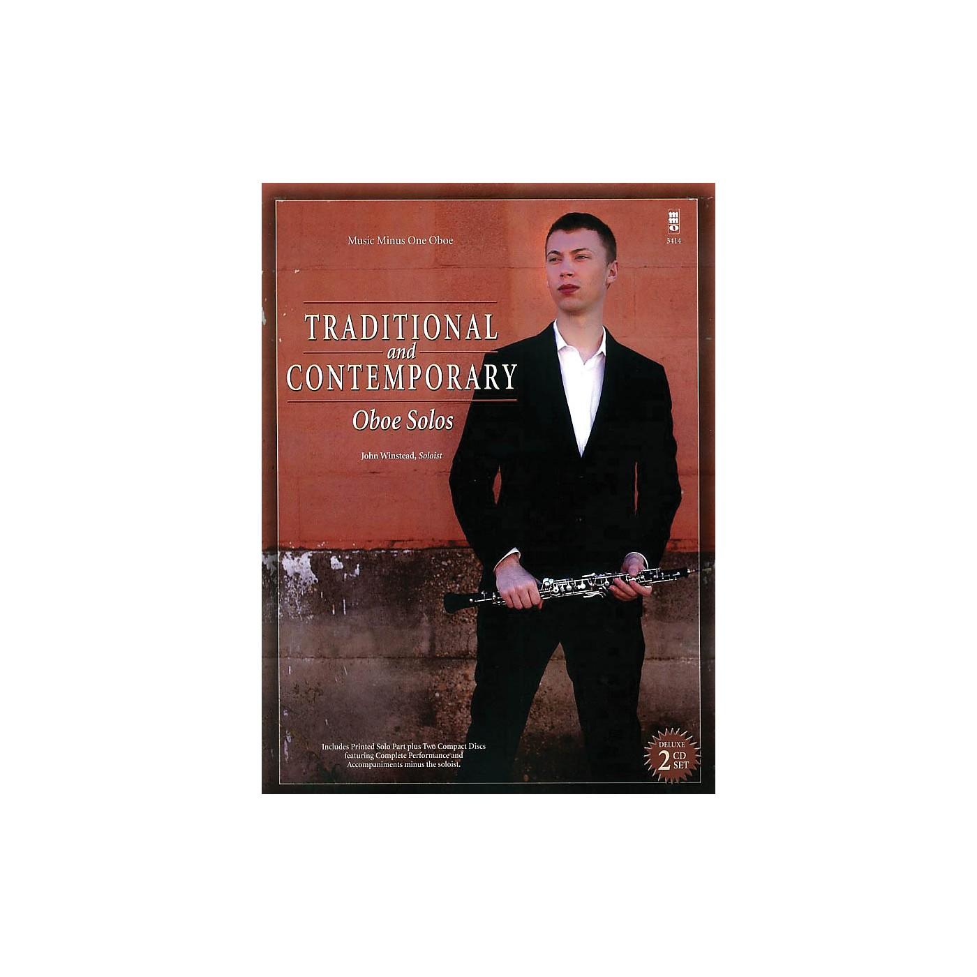 Music Minus One Traditional and Contemporary Oboe Solo Music Minus One Series BK/CD thumbnail