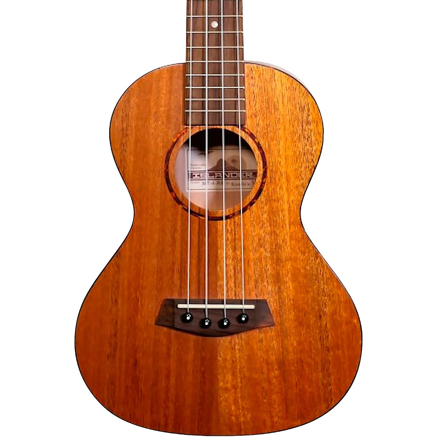 Islander Traditional concert ukulele with Mahogany top, Tortoise Binding thumbnail