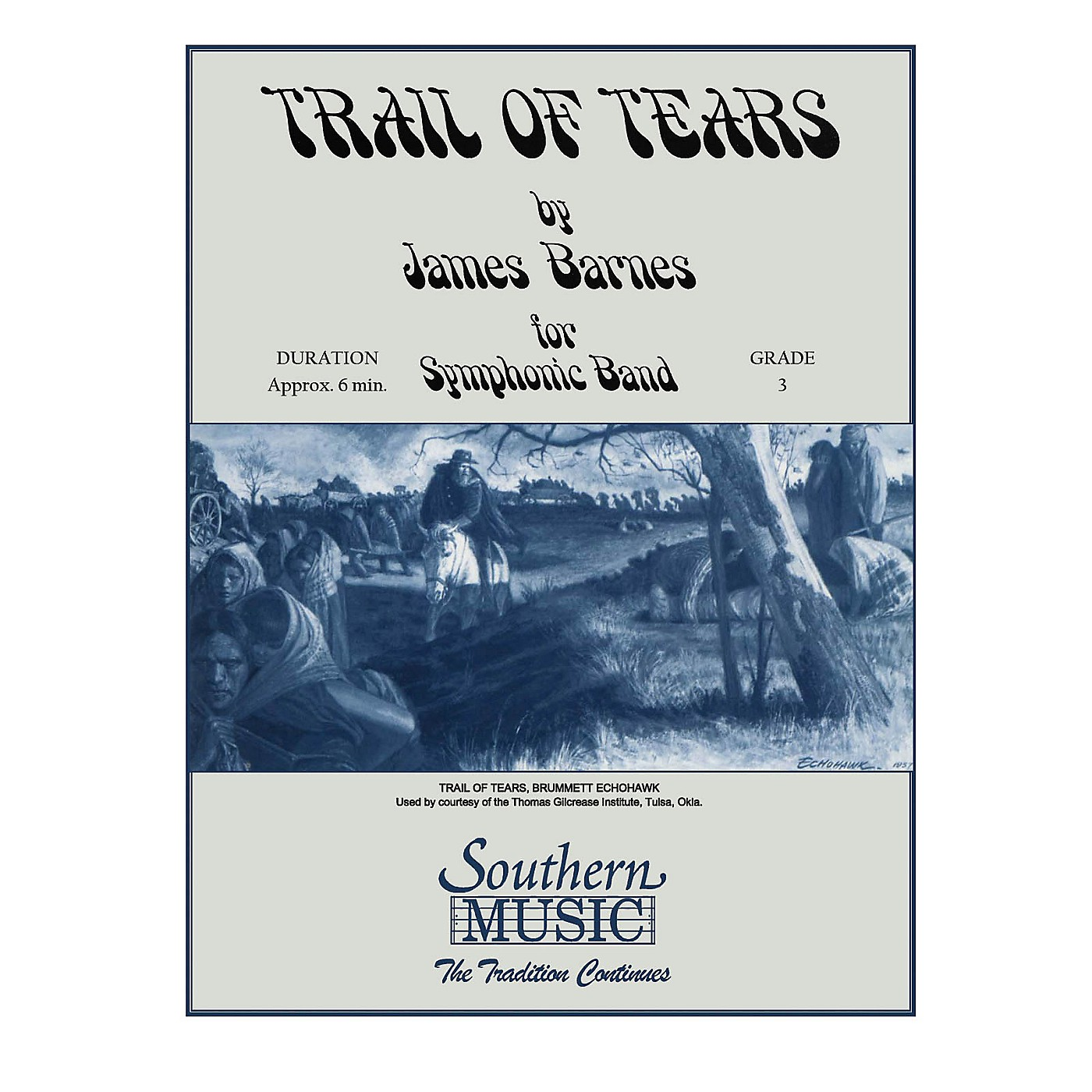 Southern Trail of Tears Concert Band Level 3 Composed by James Barnes thumbnail