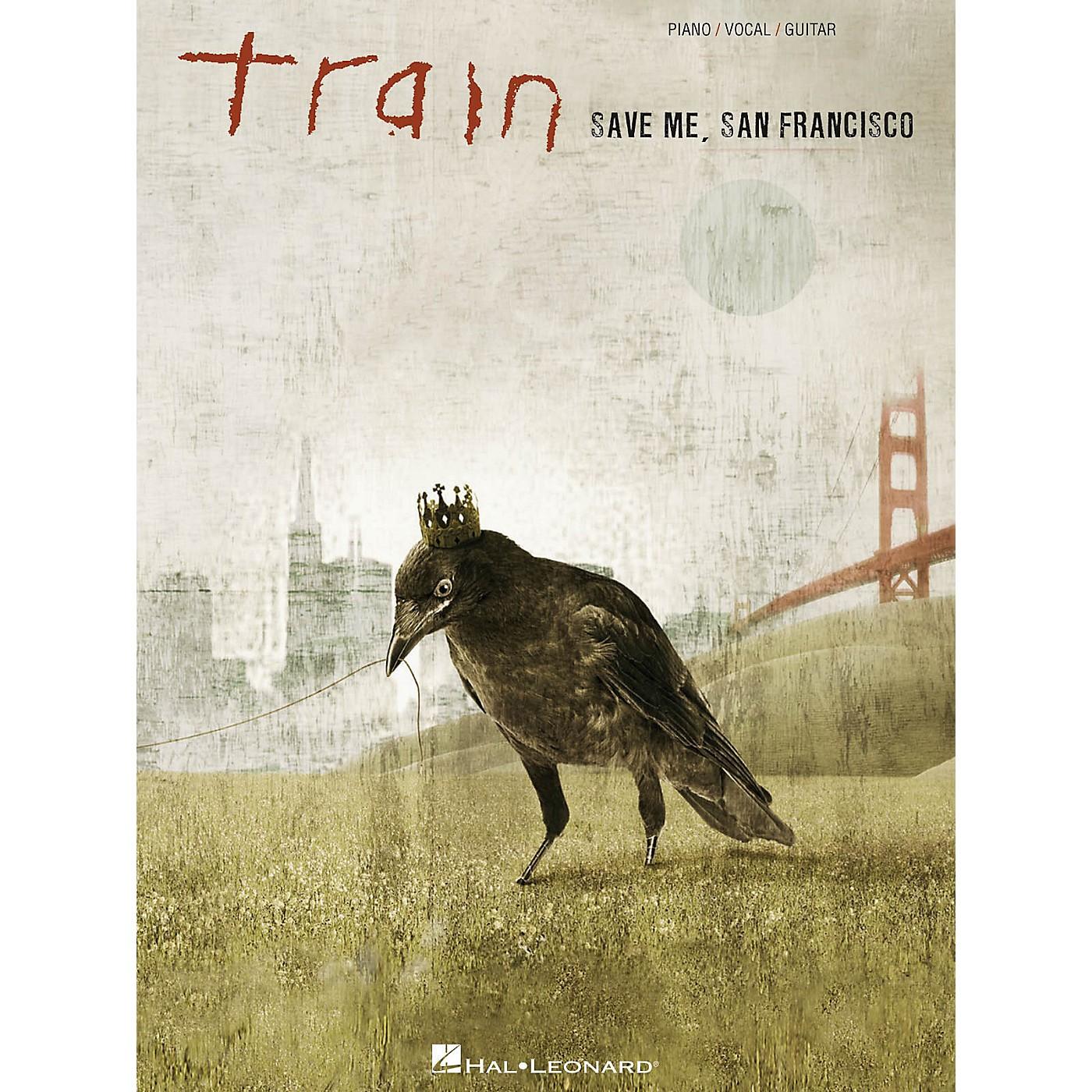 Hal Leonard Train - Save Me San Francisco PVG Songbook thumbnail