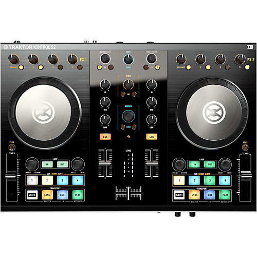 Native Instruments Traktor Kontrol S2 MK2 with Lightning Cable-thumbnail