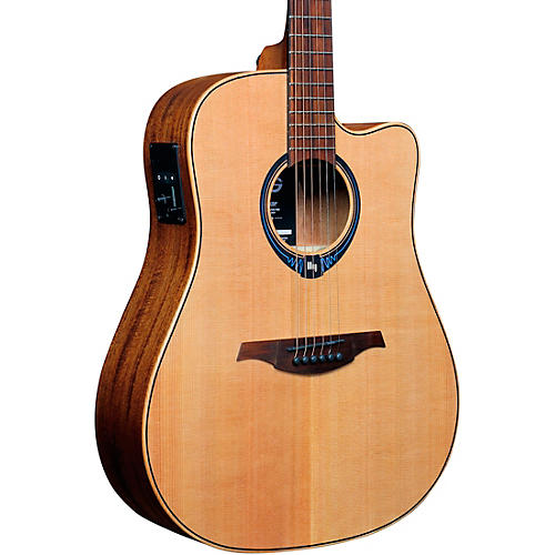 Lag Guitars Tramontane HyVibe THV10DCE Dreadnought Acoustic-Electric Smart Guitar thumbnail
