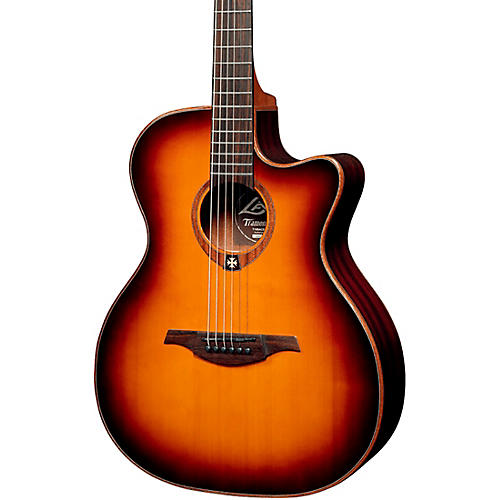 Lag Guitars Tramontane T100ACE Auditorium Cutaway Acoustic-Electric Guitar thumbnail