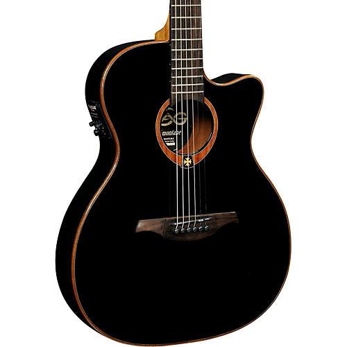 Lag Guitars Tramontane T100ASCE Slim-line Auditorium Cutaway Acoustic-Electric Guitar thumbnail