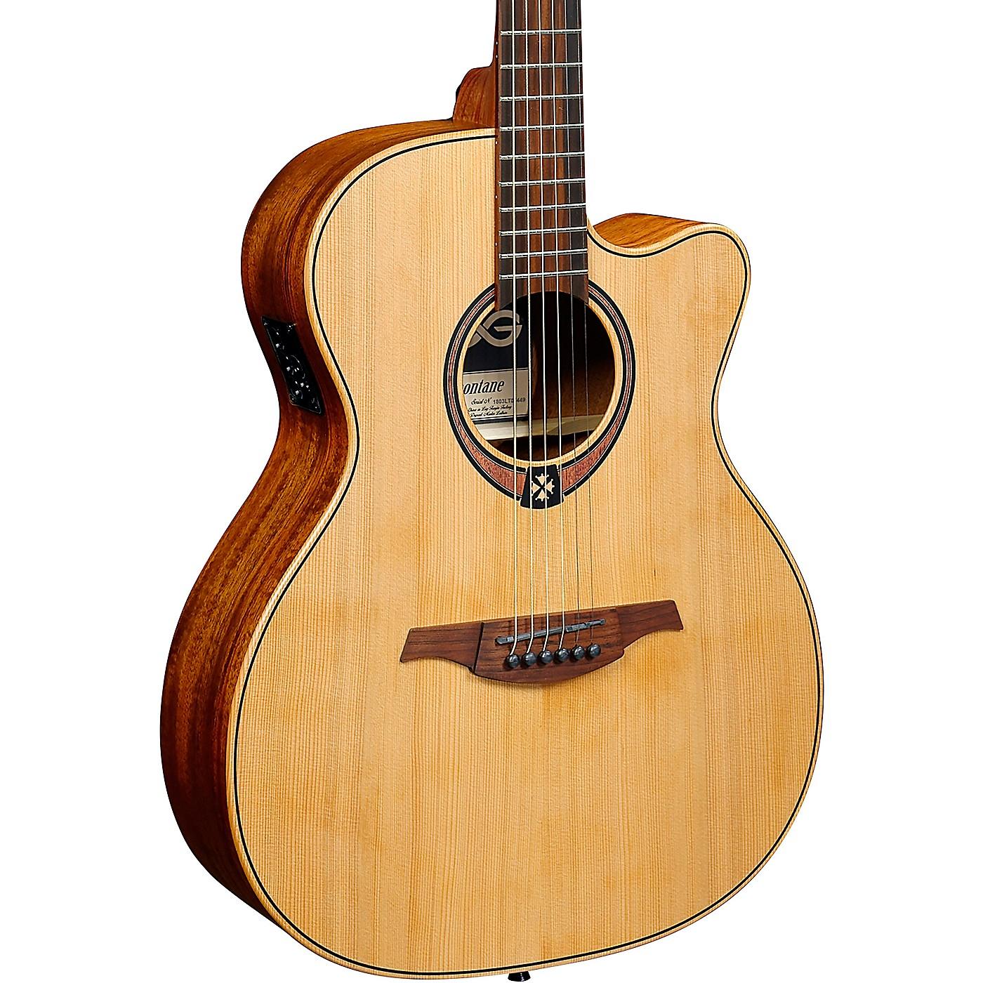 Lag Guitars Tramontane T170ACE Auditorium Cutaway Acoustic-Electric Guitar thumbnail