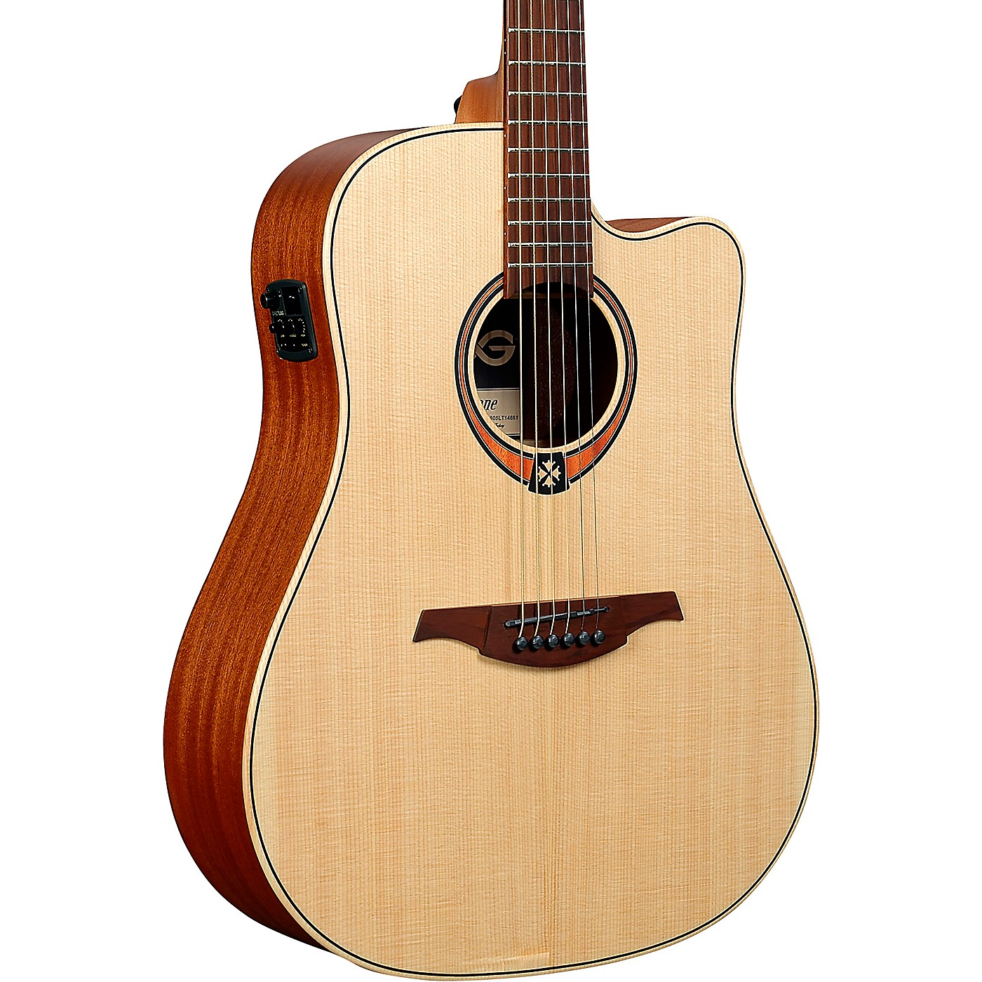 Lag Guitars Tramontane T170DCE Dreadnought Acoustic-Electric Guitar thumbnail
