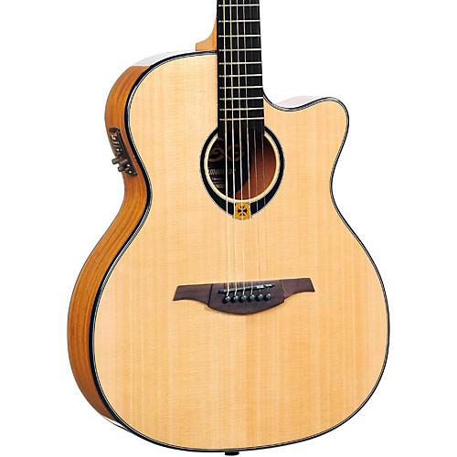 Lag Guitars Tramontane T80ACE Auditorium Cuataway Acoustic-Electric Guitar thumbnail