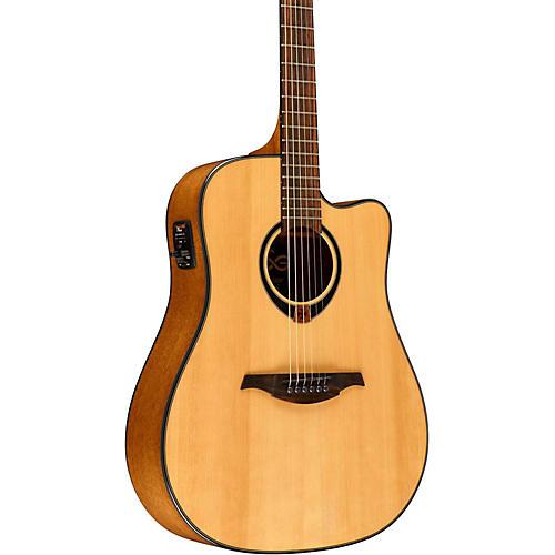 Lag Guitars Tramontane T80DCE Dreadnought Cutaway Acoustic-Electric Guitar thumbnail