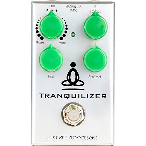 Rockett Pedals Tranquilizer Phase-Vibe Effects Pedal thumbnail