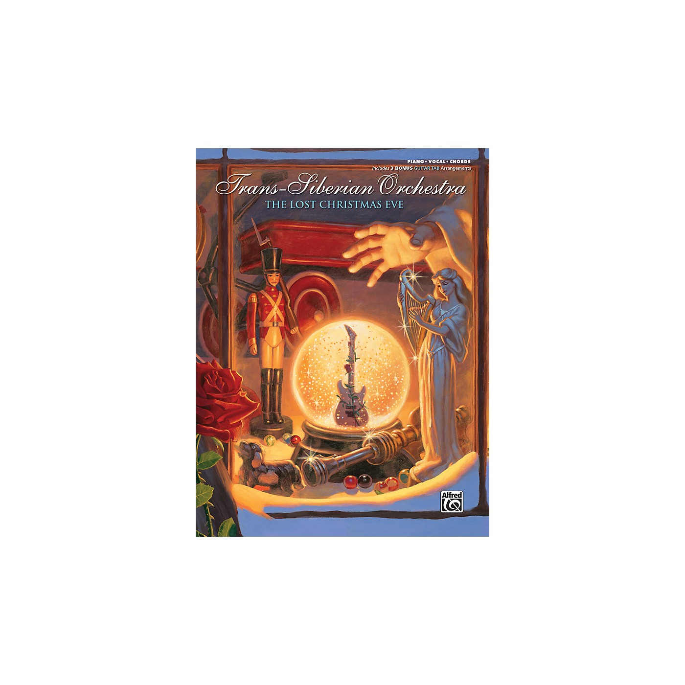 Alfred Trans-Siberian Orchestra The Lost Christmas Eve Piano/Vocal/Chords Book thumbnail