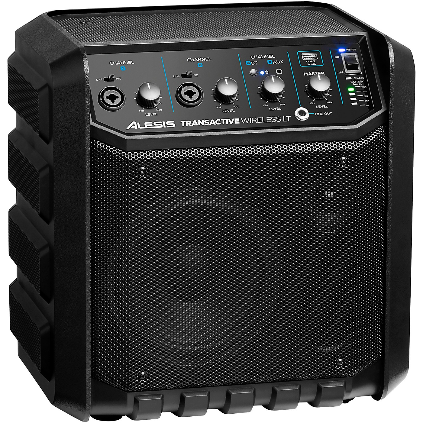 Alesis TransActive Wireless LT Portable PA Bluetooth Speaker With Rechargeable Battery thumbnail