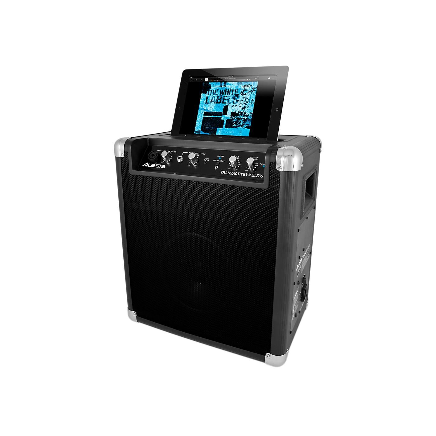 Alesis TransActive Wireless Portable Powered Bluetooth Speaker System thumbnail