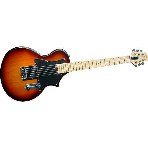 Voyage-Air Guitar TransAxe Telair VET-2 Electric Guitar with Maple Fingerboard-thumbnail